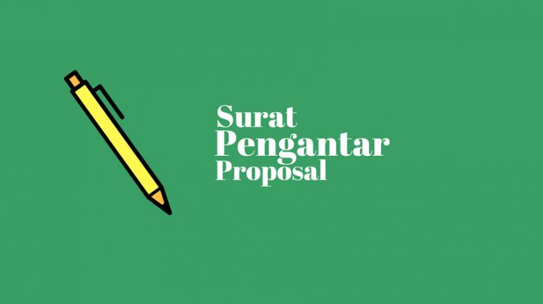 Contoh Surat Pengantar proposal
